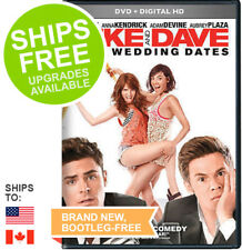 Mike and Dave Need Wedding Dates (DVD + Digital) NEW, Zac Efron, Anna Kendrick