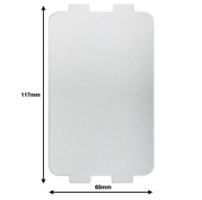 Breville Microwave Wave Guide Cover Wall Guard Plate 117 x 65mm