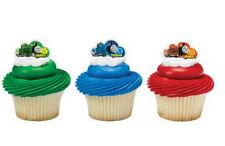 Thomas Tank Engine Train cupcake rings (24) party favor cake topper 2 dozen