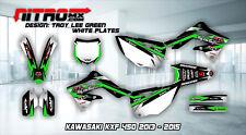 KAWASAKI Graphics Kit Decals Design Stickers KXF 450 KX 450F 2013-2015 13-15 MX