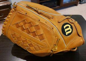 "WILSON ELITE Series Softball Glove A1671 14"" RHT Premium Leather Right Throw"