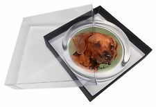Rhodesian Ridgeback 'Love You Dad' Glass Paperweight in Gift Box Chris, DAD-92PW