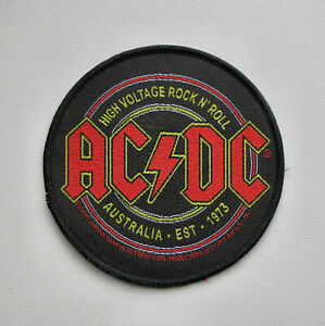 AC/DC - High Voltage Rock N Roll - Official Woven Patch
