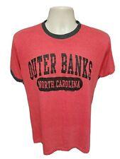 Outer Banks North Carolina Adult Medium Red TShirt