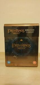 The Lord of the Rings Trilogy - Limited Edition 4K UltraHD Blu-ray Steelbook Set