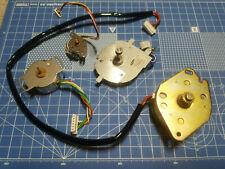 New Listingmixed Lot Of 4 Used Dc Stepper Motors From Printers Brother Samsung Hobby Diy