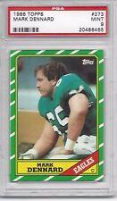 1986 Topps #273 Mark DENNARD - PSA 9+++ Eagles