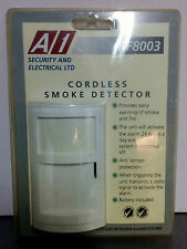 Cordless Smoke Detector A1 RF8003 For Use With RF8000 Intruder Alarm