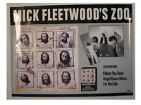 Mick Fleetwood Poster Of Fleetwood Mac Zoo OLD