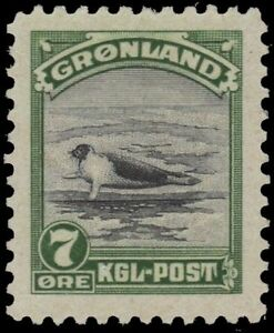 "GREENLAND 12 (Mi10) - Harp Seal ""Pagophilus groenlandicus"" (pa91424)"