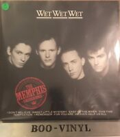 Wet Wet Wet The Memphis Sessions UK vinyl LP album record JWWWL2 PHONOGRAM Ex+