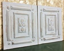 Gothic rosette rosace wood carving panel Antique french architectural salvage