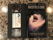 Whispers In The Dark Vhs! 1992 Thriller! See) Still Of The Night