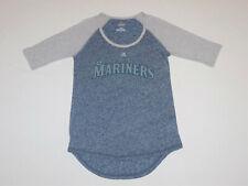 Seattle Mariners MLB Baseball Women's Majestic Fan Fashion Shirt Size Medium
