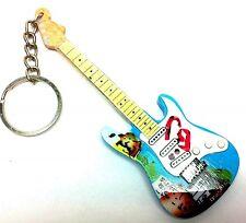 """Fender Stratocaster"" -Portachiavi chitarra - Guitar keychain - Guitarra Llavero"