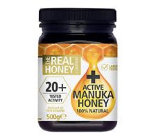 The Real Honey Company 20+ Active Manuka Honey 500g