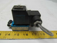 Festo 2187 & MSG-24 Solenoid Valve with attached Coil and Plug 24DC