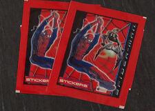 Spiderman Topps Sammeltüten von 2002 Bag Pochette Bustina