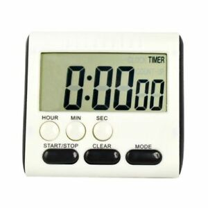 LCD Digital Kitchen Cooking Large Timer Count-Down Up Loud Alarm Clock Magnetic