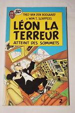 LEON LA TERREUR TOME 2  BD VAN DEN BOOGAARD SCHIPPERS 1989