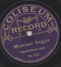 Imperial Guards Band : Gepresst in Preussen : Mamsel Angot +6 Marche Hongroise