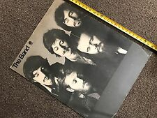 "The Band CONCERT TOUR BLANK Poster / 1971 CAHOOTS  / Avedon Portrait 27 x 21"""