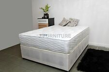 """5ft King Size Bed+Extra Firm Orthopaedic 11.5"""" Mattress+One Drawer SPECIAL PRICE"""