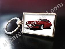 FORD CAPRI 2.8i METAL KEY RING. CHOOSE YOUR CAR COLOUR.