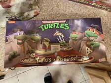 NECA TMNT Turtles In Disguise Figure 4 Pack Set Target Exclusive