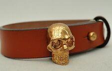 Alexander Mcqueen Skull Charms Bracelet