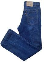 "Vintage Levi's 517 Jeans Orange Tab Made In USA 33 30 Measure 32 1/2 X 30 1/2"""