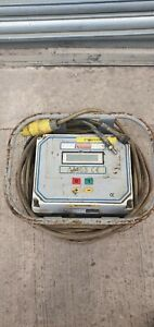 FUSION WELDER AM65 40 VOLT WITH LEADS ELECTROFUSION GAS PLASTIC PIPE WELDER