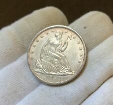 1858-O ~ Liberty Seated Half Dollar ~ Choice AU/BU!! Great Color and Luster!!