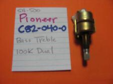 PIONEER C82-040-0 BASS TREBLE POT SPLINED KNOB SA-500