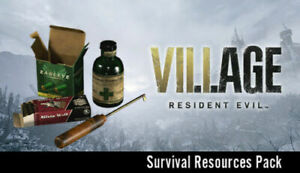 (PS4) (PS5) RESIDENT EVIL VILLAGE - Survival Resources Pack Pre-Order Pack DLC