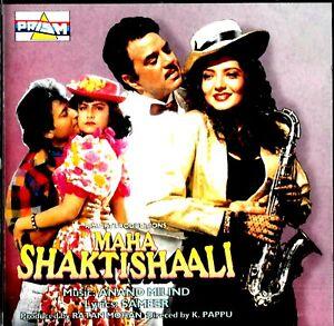 MAHA SHAKTISHAALI ~ A RARE BOLLYWOOD SOUNDTRACK CD ~ ANAND MILIND MUSIC ~ 1993