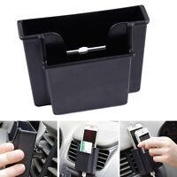 Auto Aufbewahrungsbox Beutel Handy Karte Halter Speicher Doppel Layer Kasten KFZ