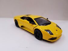 Lamborghini murcielago yellow kinsmart TOY model 1/36 diecast Car open doors