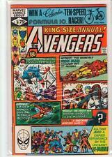 Avengers Annual #10 1st Rogue Mystique Destiny X-men 9.0