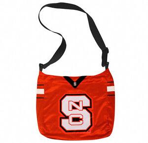NCAA NC State Wolfpack Grommet Cross Body Purse