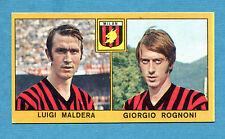 CALCIATORI PANINI 1969-70 - Figurina-Sticker - MALDERA#ROGNONI - MILAN -Rec