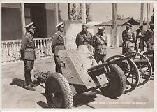 A6173) WW ETIOPIA, ADDIS ABEBA, BADOGLIO E CANNONI CATTURATI AL NEMICO.
