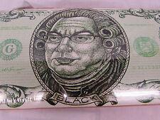 Comedian Lewis Black Dollar Bill  Logo skate board Deck New sealed.