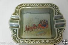 Vintage Irish Porcelain Wade Dish Armagh Pottery Horses Shamrocks Ashtray
