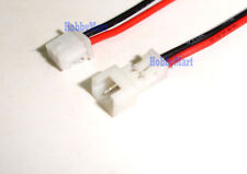 1.25mm Pitch JST PicoBlade 2Pin 1S 3.7V Male Female Connector plug 10cm wire x 5