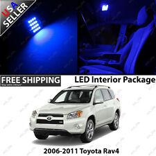 Toyota RAV 4 4 Door SUV Door White 12V LED SMD Full Interior Light Bulb Package
