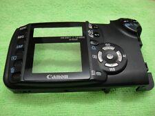 GENUINE CANON EOS REBEL XT/350D BACK CASE COVER BLACK REPAIR PARTS