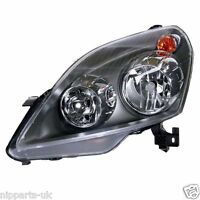 VAUXHALL ZAFIRA 2005-2008  HEADLIGHT HEADLAMP  LH LEFT PASSENGER SIDE NEAR N/S