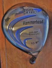 Tiger Shark Hammerhead 460cc Offset Titanium Driver - Head Only - 10.5 Degree