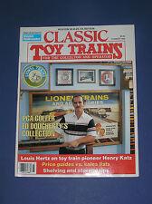 CLASSIC TOY TRAINS MAGAZINE-SUMMER 1989